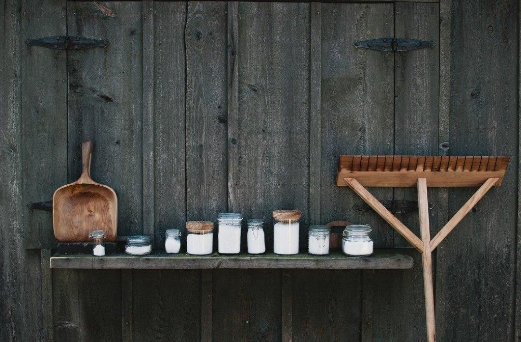 Salt and tools