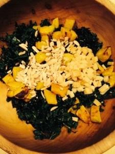 Kale salad premix